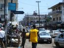 Street in capital City, Monrovia, Liberia