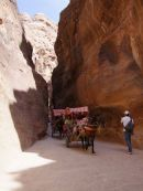 Horse & Carriage through As-Siq Gorge, Petra