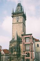 Old Town Hall Tower, 1364, & Oriel Chapel, Prague