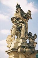 St Ludmilla, 1710, Charles Bridge, Prague
