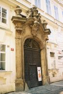 Doorway, Old Town, Prague