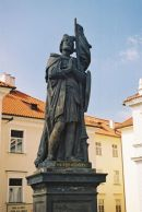 St Wenceslas, 1858, on Charles Bridge, Prague