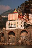 Buildings on Amalfi Coast