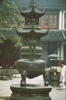 Bronze Incense Burner, Jade Buddha Temple, Shanghai