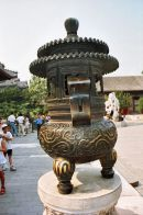 Bronze Incense Burner, Summer Palace, Beijing
