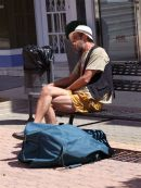 Weary traveller!, Fuengirola, Spain