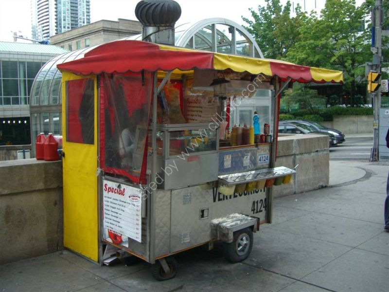 California Made Hot Dog Carts