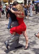 Coose your partner for Tango! Plaza de la Merced, Malaga