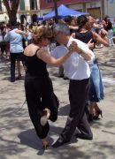 Dancing the Tango, Plaza de la Merced, Malaga