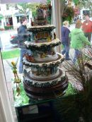 Cake on Display, Niagara on the Lake