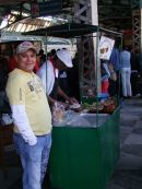 Roast Pork Food Stand, Railway Station, Havana