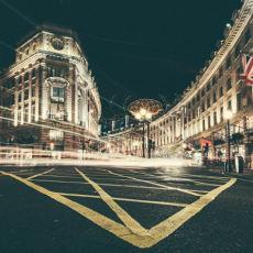 Nightwalk trough London