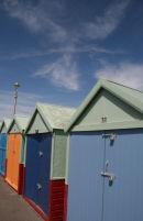 Beach huts in Hove