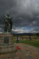 Commando Monument, Scottish Highlands