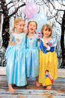 FROZEN PRINCESS PHOTOSHOOT MAKEOVER PARTIES