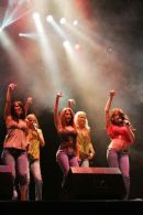 Girls Aloud performing at Culzean