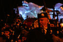 Tam o Shanter ride, to celebrate the Homecoming 250yrs since the birth of Robert Burns a large glass fibre model of Tam o Shanter was aken through Alloway January 2009