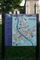 Directional notice board Irvine