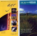 Two seperate covers of leaflets produced by South Ayrshire Council (left ) and Visit Scotland using stock images from my extensive library
