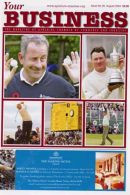 Ayrshire Chamber of Commerce & Industry publication, all the photos featured on the front are of the 2004 Open golf championship held at Royal Troon