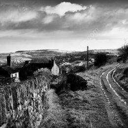 Derelict farm, Cartworth Moor