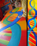 Double Helix Tryptych, Education Unit Mile End Hospital