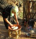 Making Berber Bread