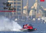 The opening spread for H2O Full Throttle magazine article on the UIM F1 H2O Sharjah Grand Prix.