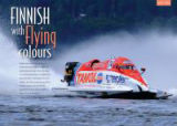 Opening spread from H2O Full Throttle magazine.