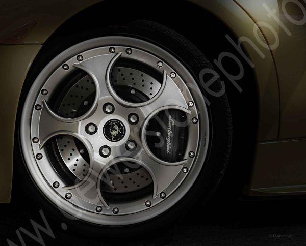 Lamborghini Murciélago wheel detail