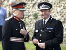 Me spotted by Lord Lieutenant and the Chief Constable!