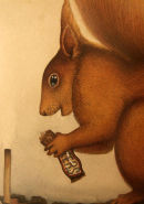 Red Squirrel [Detail]