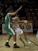 Vs Leicester Riders 7th November 2007