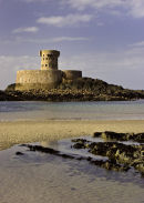 La Rocco Tower at St Ouen's Bay