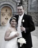 Caroline and Frank, Wedding at Murroe Church