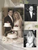 Memory Wedding Album Page Design