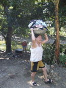 Laundry day at the river