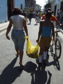 Santiago: Market purchases