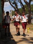 Homebound schoolboys, Vinales