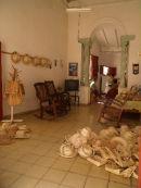 Hat and bag shop, Trinidad
