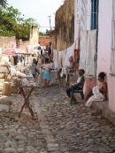 Trinidad: Market stalls