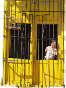 Caged bird, caged woman