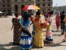 Havana: Ladies in traditional costume