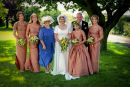 Idyllic country wedding