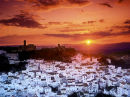 casares sunset spain