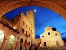 san gimignano night 4, Tuscany