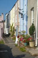 Mevaggissey, fishermans cottages