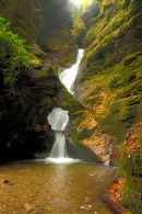 The Waterfall at St Nectans Glen, nr Tintagel