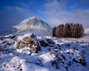 'Buachaille Etive Mor in the morning'