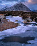 'Buchaille Etive Mor at Dawn'
